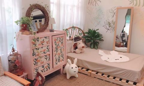 Làm mới phòng ngủ với muôn kiểu giường pallet xinh độc lạ