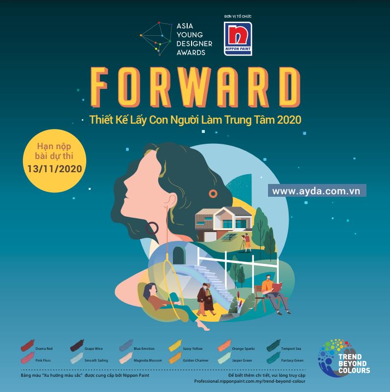 """Chủ đề AYDA 2020 """"FORWARD – Thiết kế lấy con người làm trung tâm"""""""