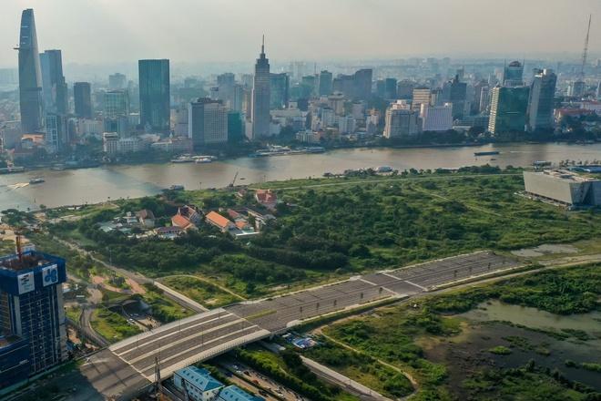 Thành phố phía đông gồm quận 2, quận 9, Thủ Đức tạm lấy tên Thành phố Thủ Đức. Ảnh: Quỳnh Danh