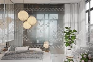 Phòng ngủ nghệ thuật kích thích khả năng sáng tạo