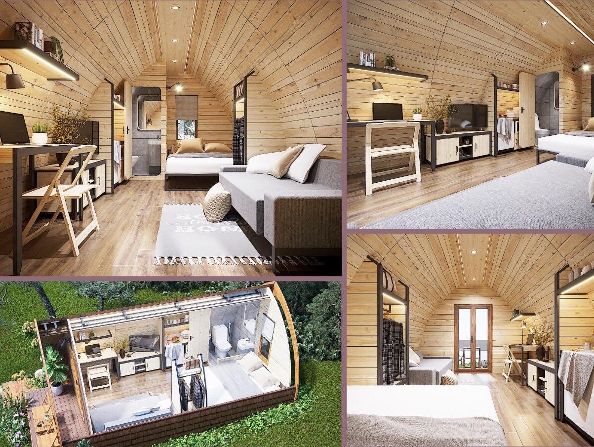 Không gian nội thất tiện ích