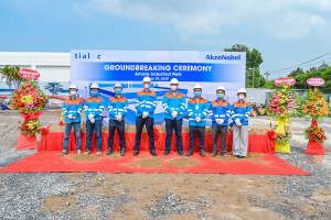 AkzoNobel đầu tư xây dựng nhà máy sản xuất xanh tại Việt Nam,  hướng tới phát triển bền vững