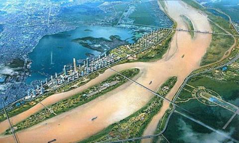 Dự án thành phố hai bên bờ sông Hồng: Lo cho không gian công cộng