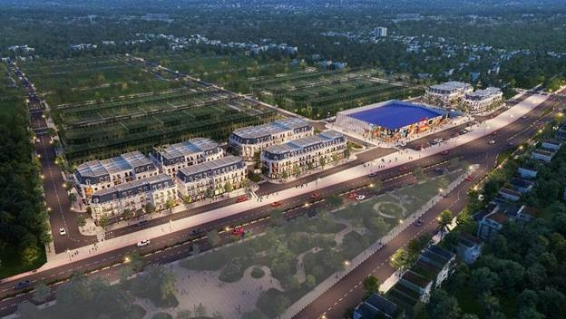 Quy hoạch tổng thể khu trung tâm thương mại Vincom Uông Bí