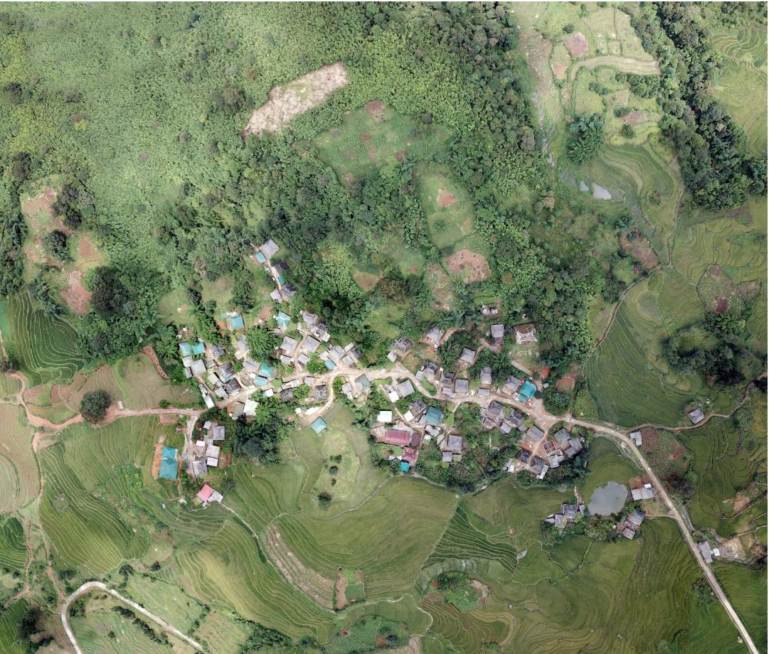 thôn Choản Thèn, Lào Cai góc nhìn tổng thể