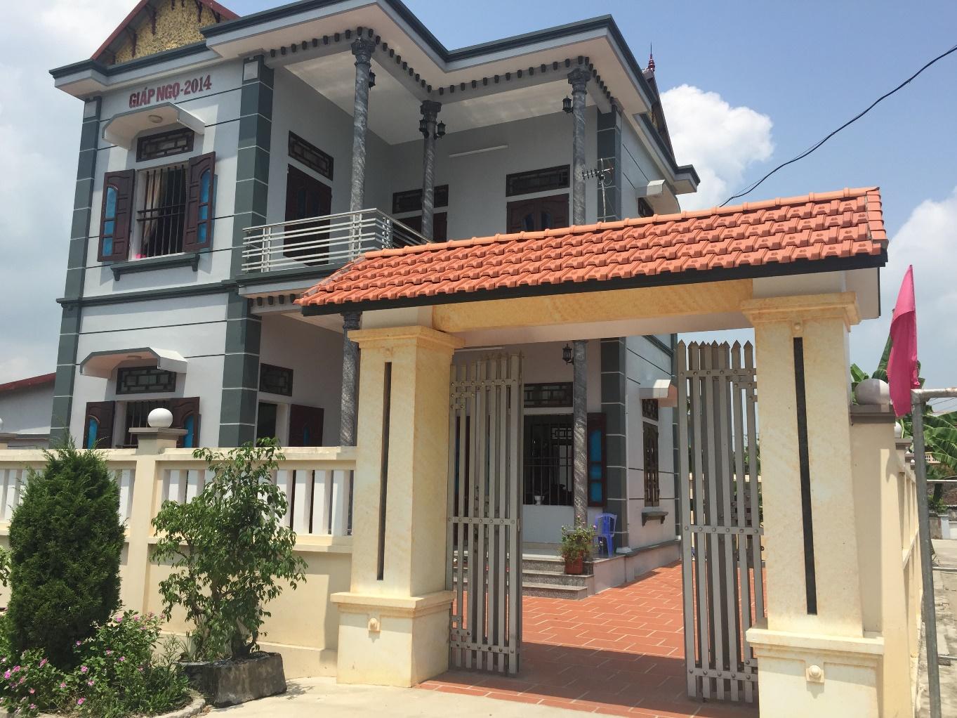 Nhà ông Trần Văn Tính xã Thanh Tân, huyện Kiến Xương, tỉnh Thái Bình