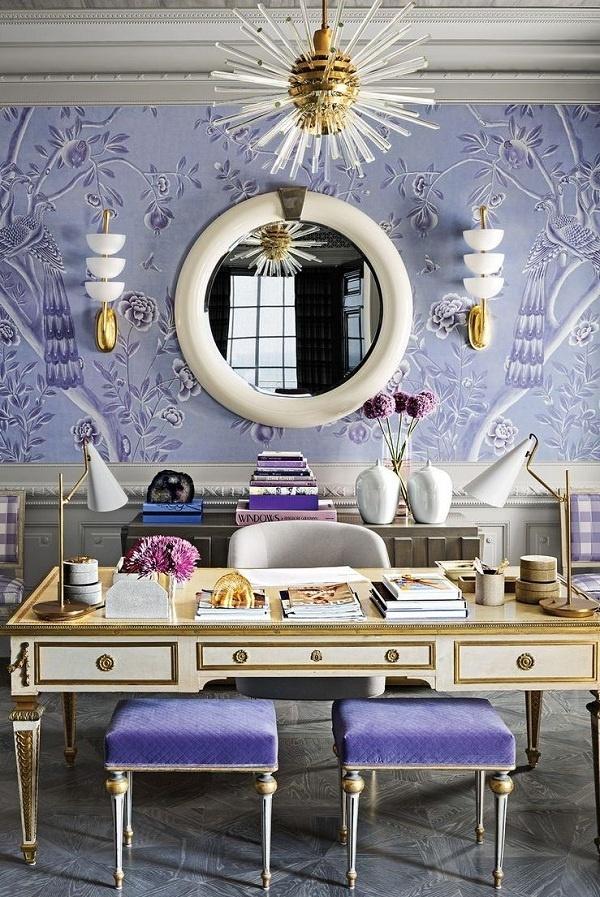 Nếu một căn phòng toàn tông trung tính không phải là phong cách của bạn, thì không cần phải lo lắng. Tạo một bức tường có điểm nhấn táo bạo và một bảng màu sắc táo bạo như thiết kế này để tạo năng lượng cho căn phòng và làm cho nó trông sáng hơn.