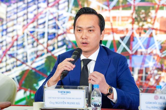 Ông Nguyễn Mạnh Hà - Chủ tịch Think Big Group