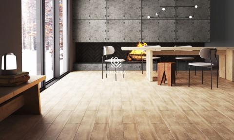 Gạch giả gỗ – Mang vẻ đẹp thiên nhiên vào ngôi nhà của bạn