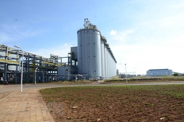 Một góc Nhà máy Alumin Nhân Cơ
