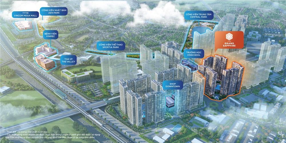 """""""Bộ tứ kim cương"""" Vingroup cùng hệ sinh thái hoàn hảo tại Vinhomes Smart City"""