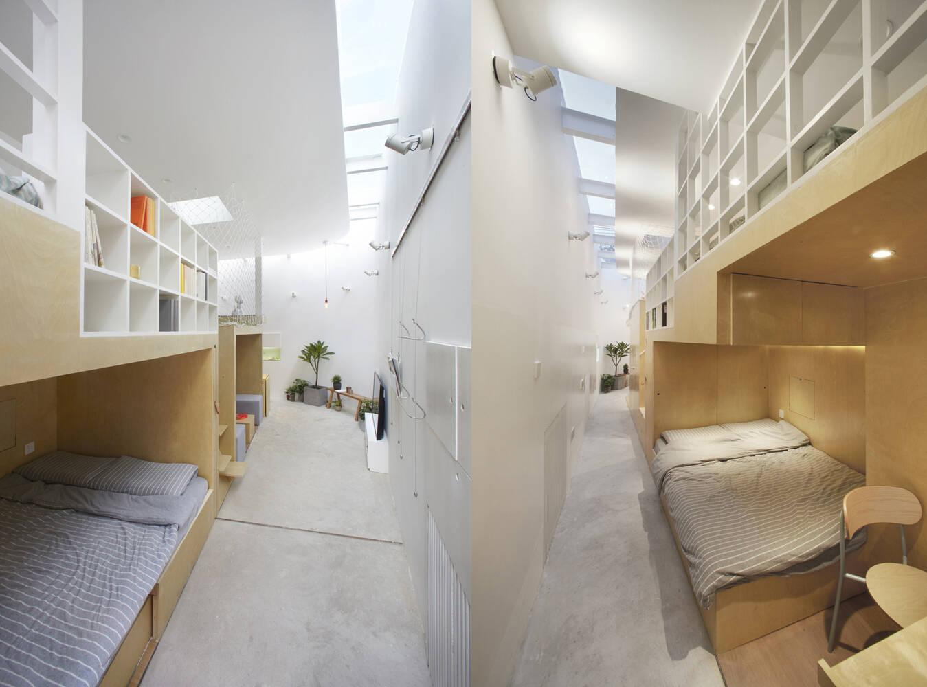 Sự nhỏ hẹp của ngôi nhà là thách thức cải tạo đối với kiến trúc sư