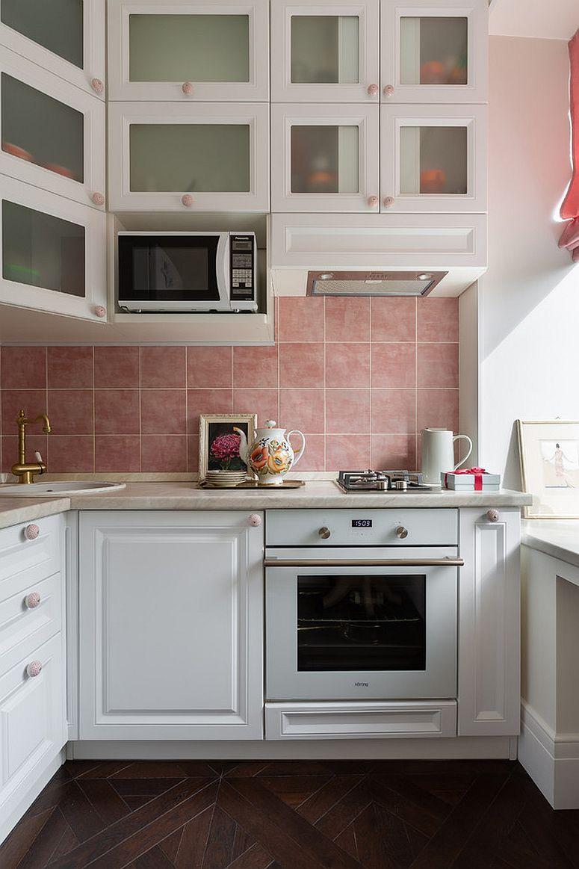 Góc bếp nhỏ sẽ đẹp hơn khi có ánh sáng tự nhiên