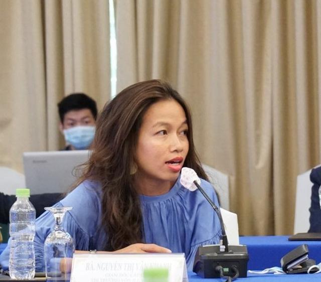 Bà Nguyễn Thị Vân Khanh, Giám đốc cấp cao thị trường vốn JLL Việt Nam