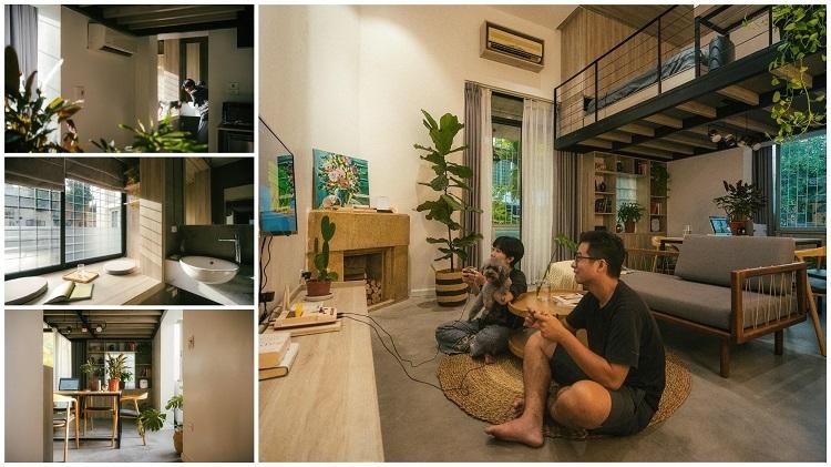 """Anh Trần Xuân Trường, kiến trúc sư chính của dự án này cho biết: """"Khó khăn nhất khi thiết kế và thi công căn phòng là giải quyết vấn đề về kết cấu, đảm bảo giữ nguyên và không phá vỡ phong cách chung của một căn biệt thự kiểu Pháp. Thi công lại hệ thống kỹ thuật để sử dụng tiện lợi hơn…"""""""