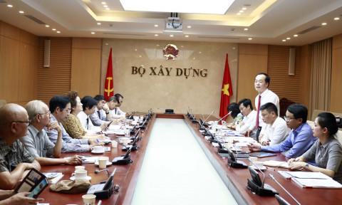 Bộ trưởng Phạm Hồng Hà làm việc với lãnh đạo Hội Quy hoạch phát triển đô thị Việt Nam
