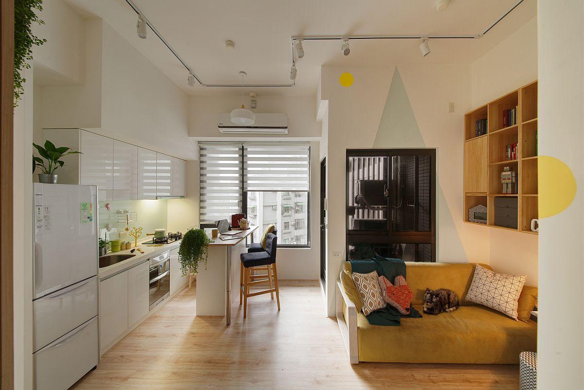 Khéo léo sử dụng ánh sáng giúp căn bếp đẹp hơn