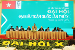 Kết quả bầu cử BCH và lãnh đạo chủ chốt Hội KTS Việt Nam khoá X