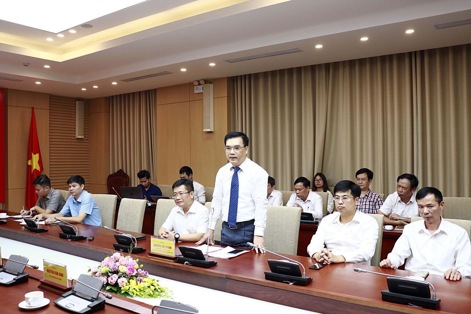 Tổng Giám đốc Tổng Công ty SCIC Nguyễn Chí Thành phát biểu tại buổi lễ