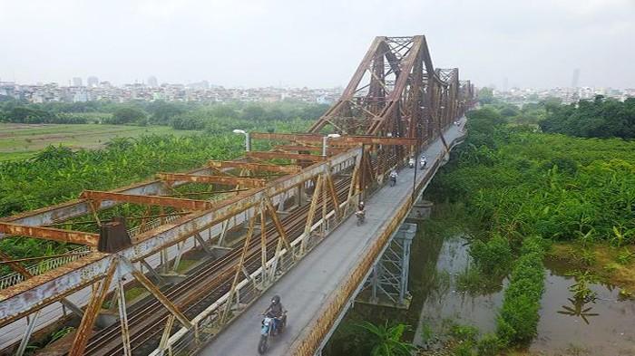 Cầu Long Biên. Ảnh: Phạm Hùng