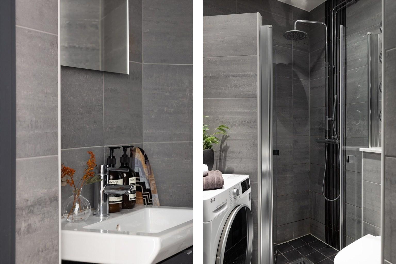 Khu vực phòng tắm, phòng vệ sinh hiện đại, tiện ích