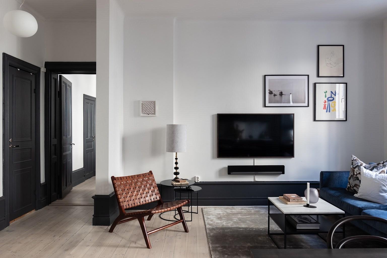 Không gian nhỏ nhưng đầy đủ nội thất, đầy đủ các chức năng cần thiết.