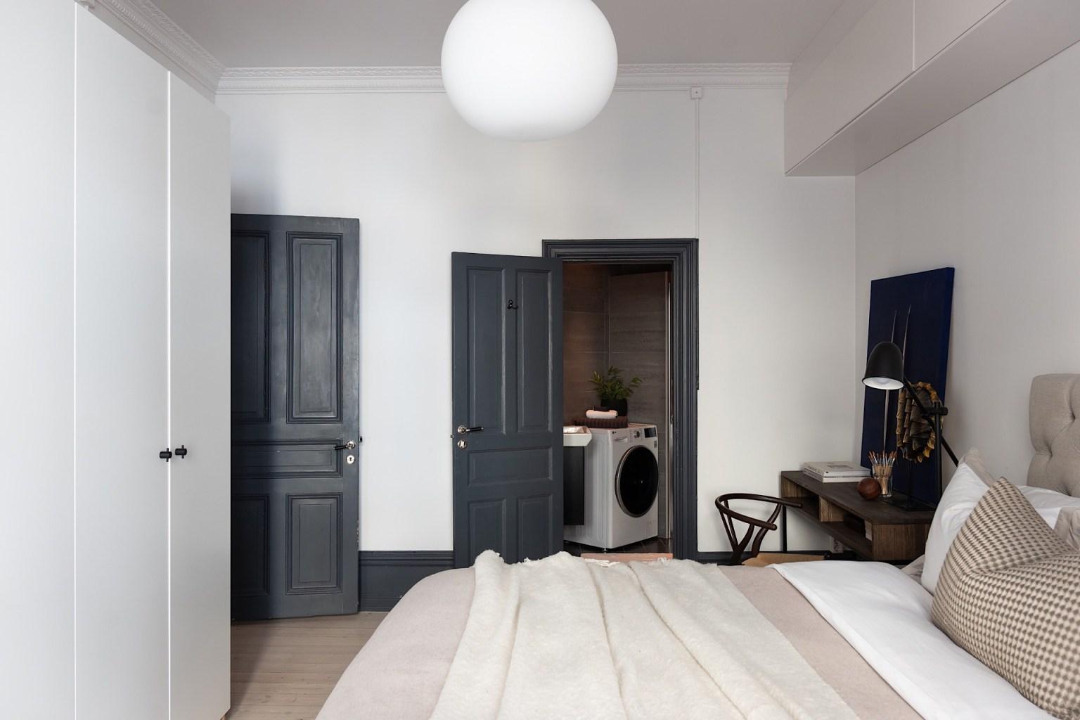 Căn phòng ngủ được ưu ái với diện tích rộng rãi