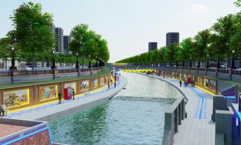 Đề xuất cải tạo sông Tô Lịch thành công viên Lịch sử – Văn hóa – Tâm linh