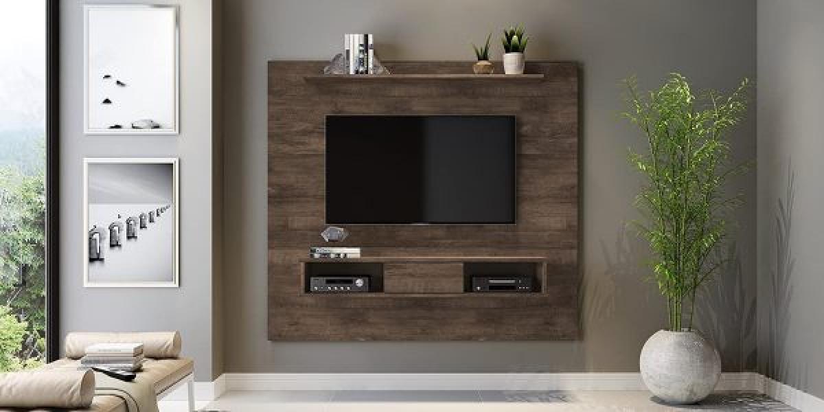 Kệ tivi bằng gỗ tăng thêm chút ấm cúng cho khu vực phòng khách