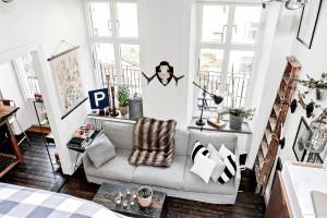 Những ý tưởng bài trí phòng khách nhỏ