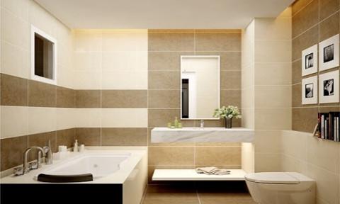 Ưu, nhược điểm của các vật liệu ốp lát phòng tắm