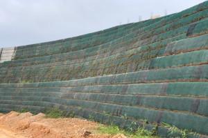 Tường chắn đất cốt địa kỹ thuật: Giải pháp thay thế tường bê tông cốt thép truyền thống