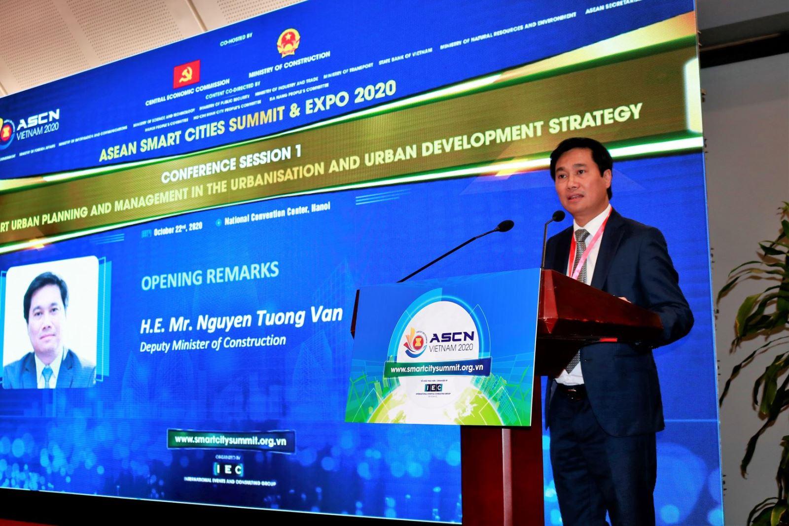 Thứ trưởng Nguyễn Tường Văn phát biểu tại hội thảo