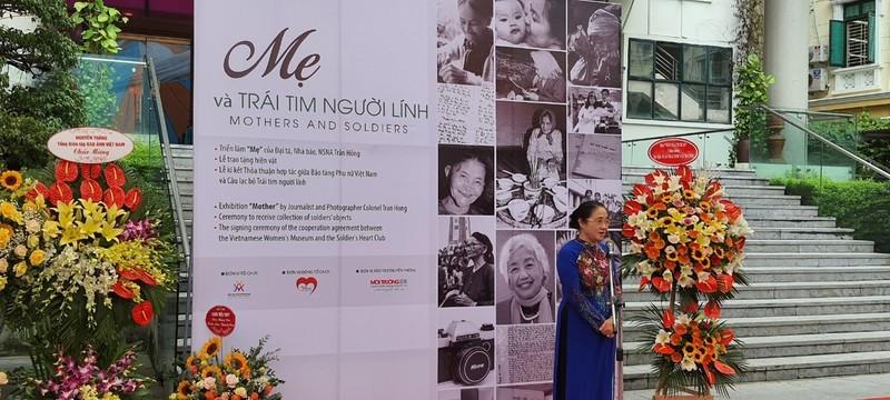 Bà Hoàng Thị Ái Nhiên - Phó Chủ tịch Thường trực Trung ương Hội Liên hiệp phụ nữ Việt Nam phát biểu