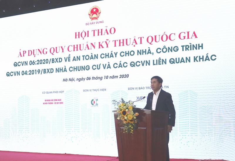 Thứ trưởng Lê Quang Hùng phát biểu tại Hội thảo