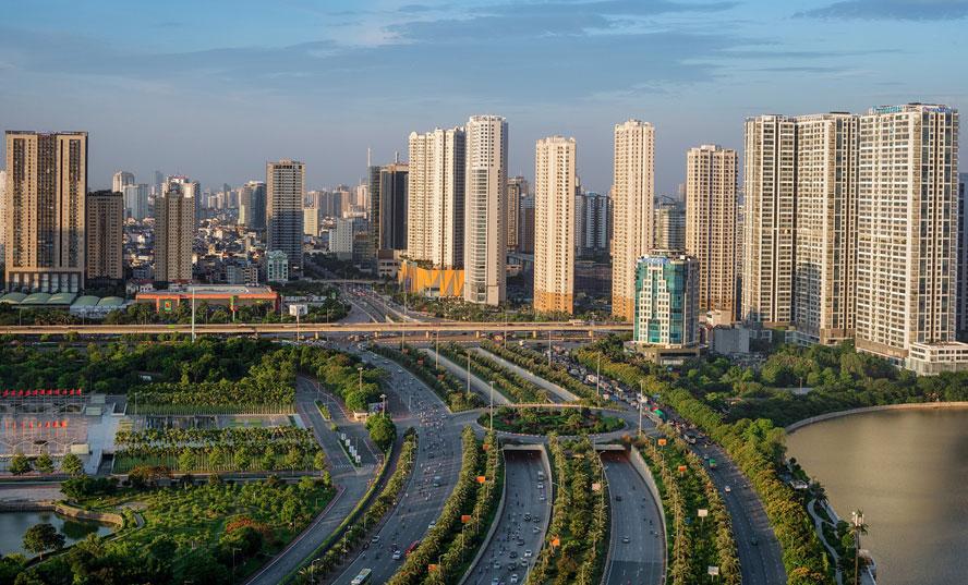 Diện mạo Thủ đô ngày càng sáng, xanh, sạch đẹp, văn minh, hiện đại. Ảnh: Vũ Long