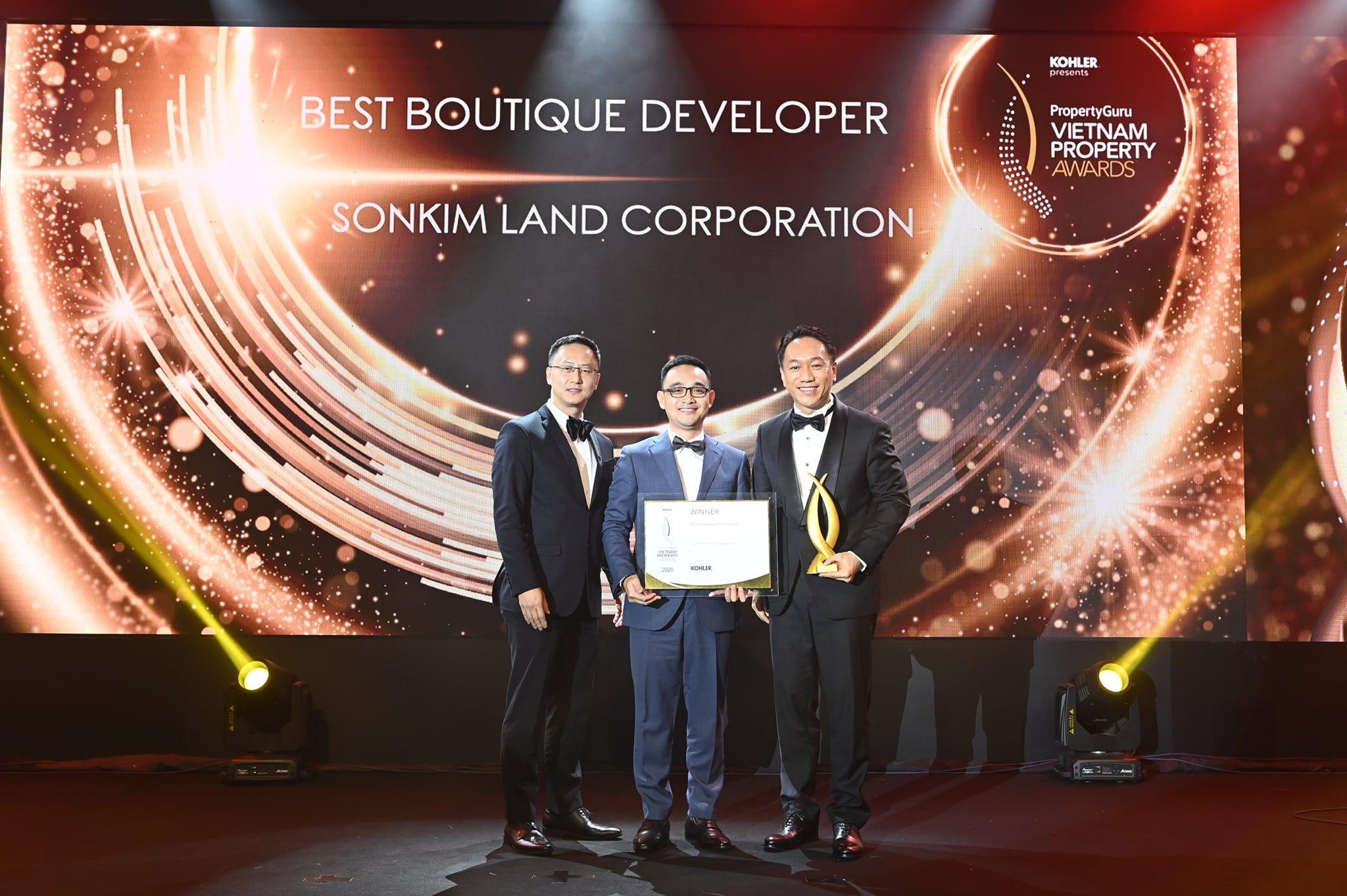 SonKim Land Corporation-Nhà phát triển BĐS xuất sắc nhất dòng Luxury Boutique