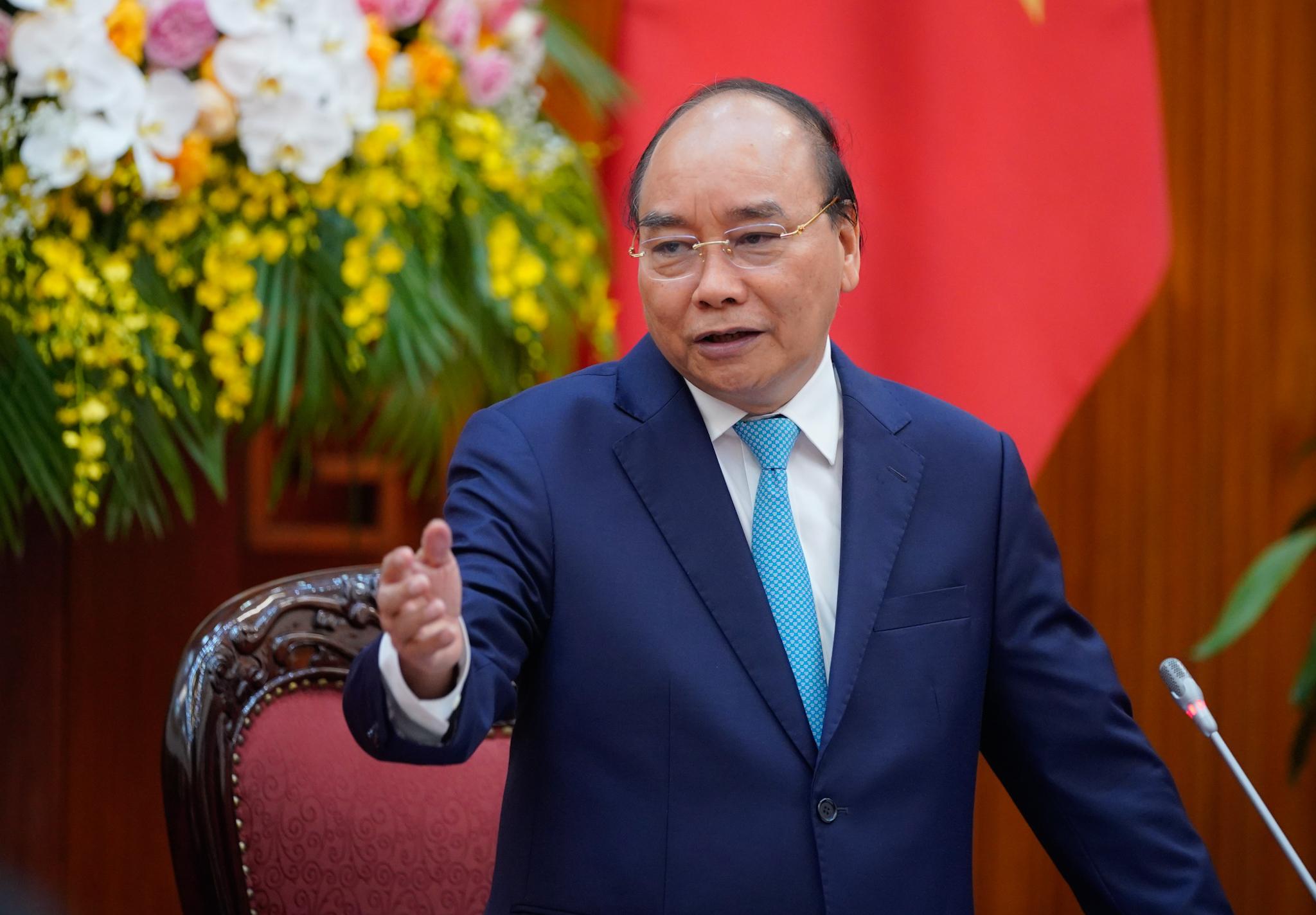 Thủ tướng: Phát triển đô thị là một kênh tăng trưởng quan trọng. Ảnh VGP/Quang Hiếu