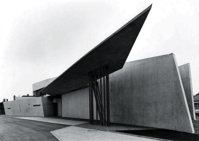 Trạm cứu hỏa Vitra (Weil am Rhein, Germany 1993). (Nguồn: Pritzker Priz)