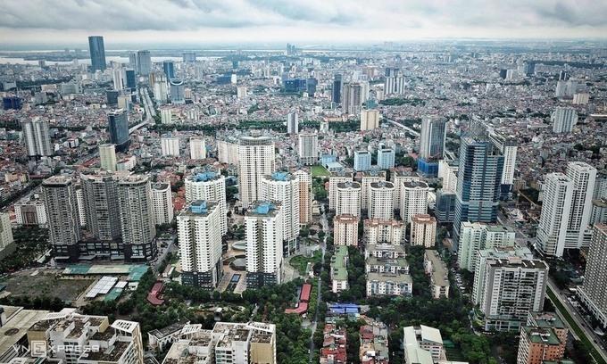 Thị trường bất động sản Hà Nội. Ảnh:Giang Huy