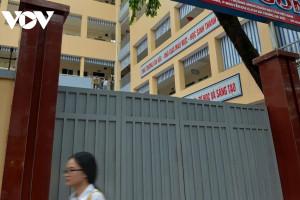 Hà Nội kiểm tra chất lượng trụ cổng trường học