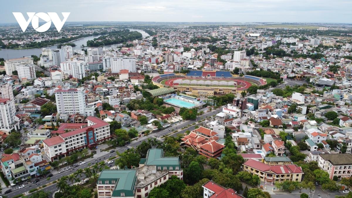 Đô thị Huế nhìn từ trên cao