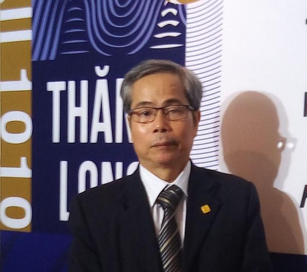 KTS. Trần Huy Ánh, Ủy viên thường vụ Hội Kiến trức sư Hà Nội. Ảnh: Minh Anh