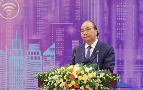 Thủ tướng Nguyễn Xuân Phúc phát biểu tại Diễn đàn cấp cao Đô thị thông minh ASEAN năm 2020