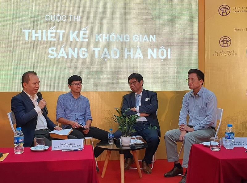 Các chuyên gia chia sẻ quan điểm trong việc thiết kế không gian sáng tạo Hà Nội