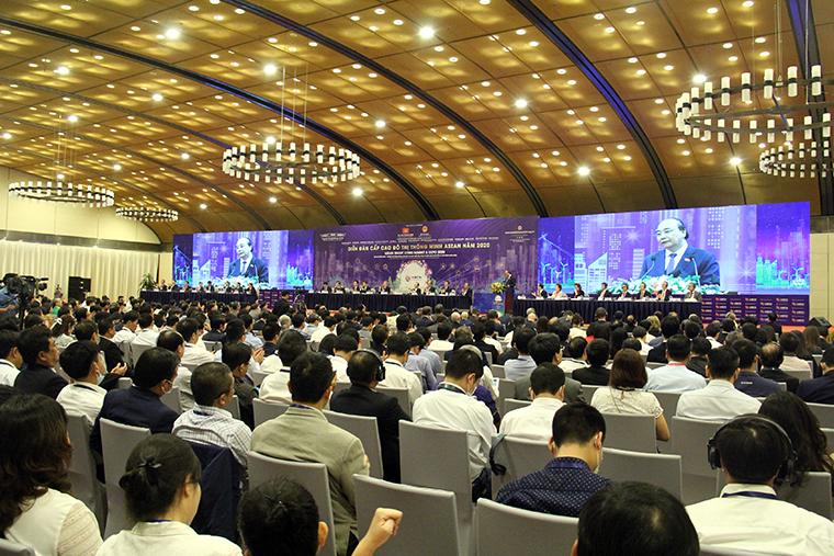 Diễn đàn cấp cao về Đô thị thông minh ASEAN năm 2020