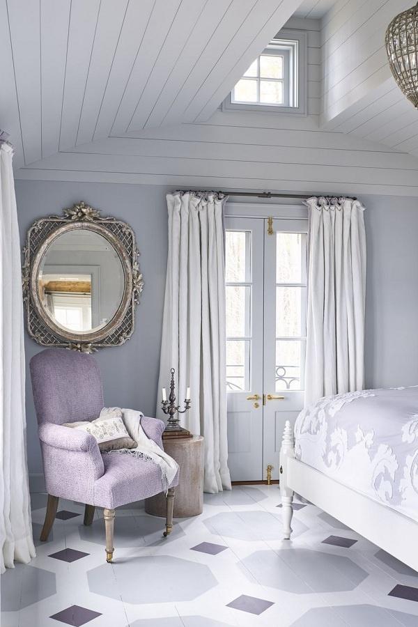 Tông màu này luôn mang lại cảm giác cân bằng, ấm áp. Khi kết hợp với màu trắng sẽ giúp bạn có không gian lãng mạn, nhẹ nhàng và thư giãn