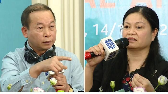Ông Vũ Văn Phấn và bà Phạm Thị Thịnh