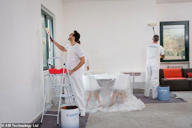 Các văn phòng của công ty bất động sản Grosvenor Britain & Ireland trở nên sạch sẽ hơn nhờ sử dụng sơn Airlite