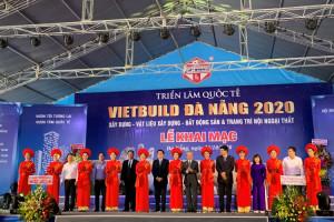 Gần 800 gian hàng tham dự Triển lãm quốc tế Vietbuild 2020 tại Đà Nẵng